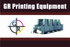 September 30th GR Printing Equipment Printing / Bindery / Packaging / Mailing Equipment Auction