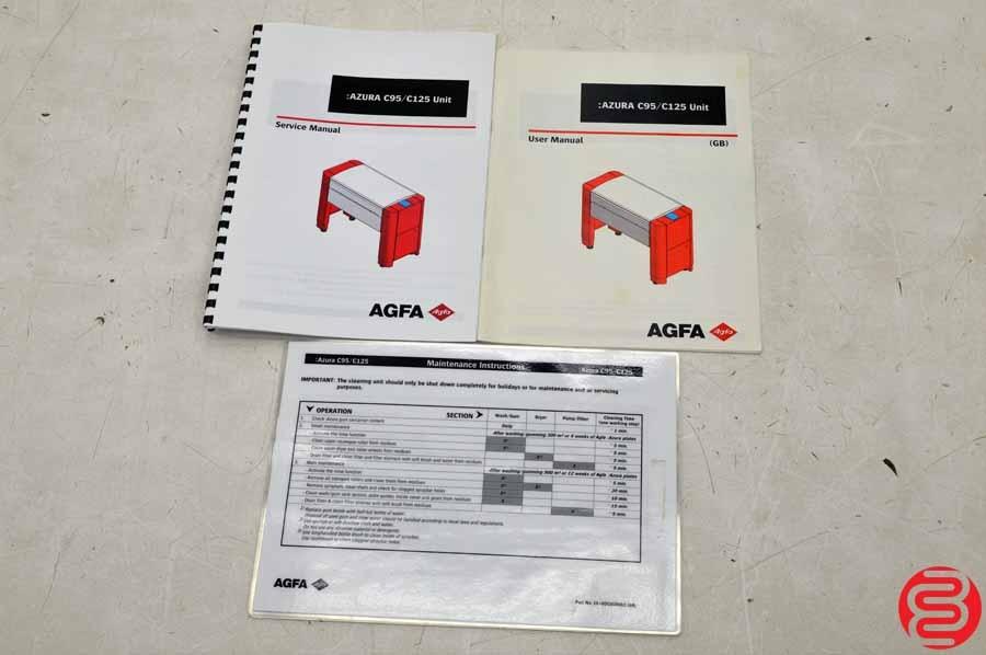 2001 fujifilm dart luxel t6000 computer to plate system with 2007 rh wirebids com  agfa azura c95 manual