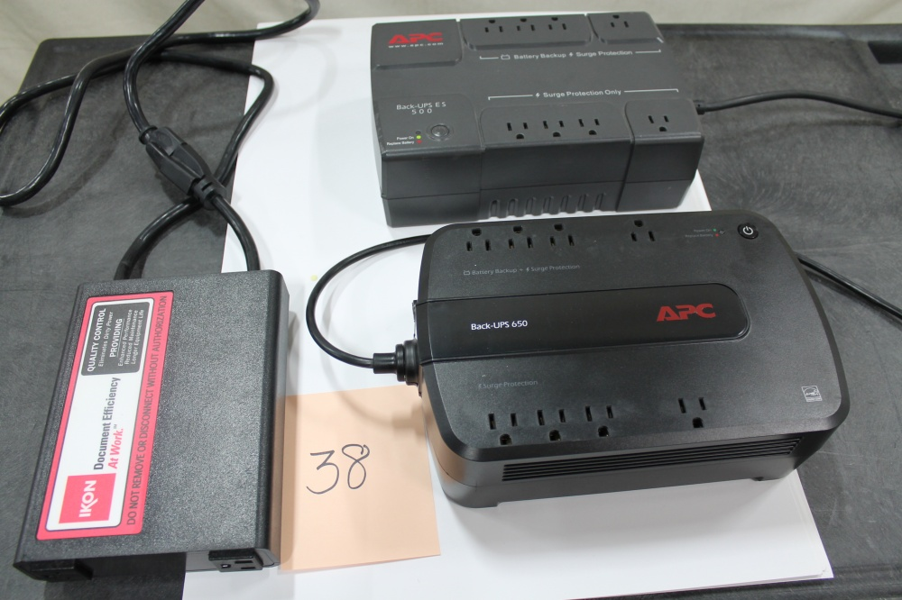 Lot #38: Battery Backups and Surge Protectors - WireBids