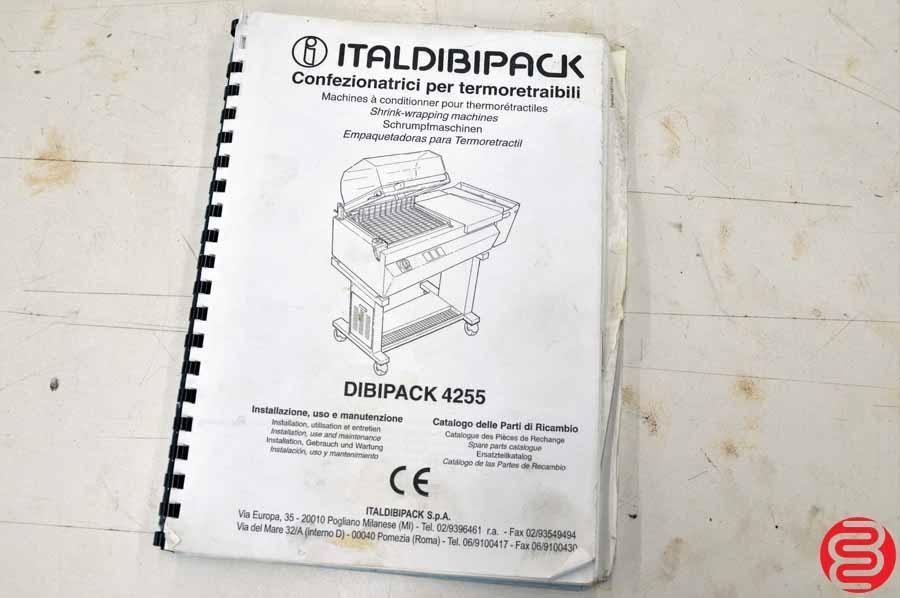 Lot 50 Italdibipack Dibipack 4255 St Semi Automatic Shrink Wrap